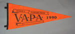 Pennant for VAPA Standard Pistol Division 3, 1990