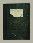 """Minute book, """"McConchie Family Cricket Minutes 1913-14 to 1931-32"""""""