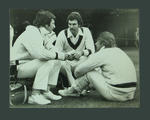 Photograph of Ian Chappell, Greg Chappell & Rod Marsh at Lord's, 1975