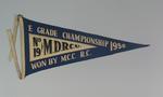 Pennant MDRA No.19 E Grade Championship won by M.C.C.  R.C. 1950