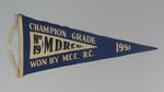 Pennant 19 MDRCU  Champion Grade won by M.C.C  R.C. 1951