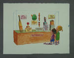 """Cartoon, """"Cricket Memorabilia"""" by Peter Nicholson"""