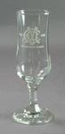 Wine glass, MCC 150th Birthday Dinner 1838-1988