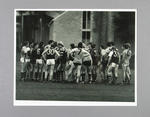 Photograph of Hawthorn footballers at training, 1980s