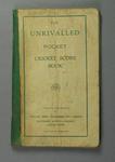 Score book, Albert Park Old Boys Cricket Club - season 1947-48