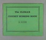 Score book, Albert Park Old Boys Cricket Club - season 1941-42