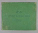 Score book, Albert Park Old Boys Cricket Club - season 1939-40