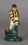 Plaster figure, Hawthorn FC footballer c1957