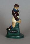 Plaster figure, Fitzroy FC footballer c1957
