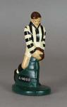 Plaster figure, Collingwood FC footballer c1957