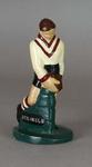 Plaster figure, South Melbourne FC footballer c1957
