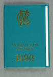 Marylebone Cricket Club Abroad List membership card, 1996 - issued to Dr J C Lill