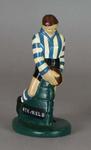 Plaster figure, North Melbourne FC footballer c1957
