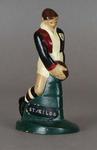 Plaster figure, St Kilda FC footballer c1957