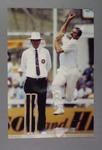 Photograph of Dennis Lillee, bowling