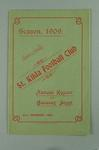 St Kilda FC Annual Report, season 1909