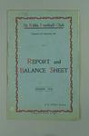 St Kilda FC Annual Report, season 1914