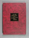 """Stamp album sleeve, """"The Australian Prime Minister's Olympic Dinner 2000"""""""