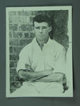 Copy of photograph of cricketer H M Thurlow