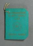 Membership ticket, Nottinghamshire County Cricket Club - Country 1962