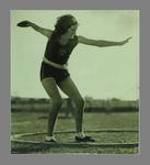 Action photograph of Elsie Jones, 1935