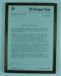 Framed information about Grosvenor House, winner of 1933 UK-Australia Air Race