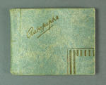 Autograph book containing signatures of personalities involved with 1956 Olympic Games