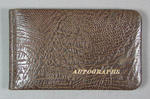 Autograph book, contains signatures of 1956 Olympic Games athletes