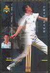 1999/2000 Western Warriors cricket team Sean Cary trade card