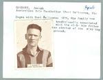 Trade card featuring Joseph Garbutt, Wills Cigarettes 1933