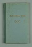 Souvenir book of 1956 Olympic Book, written in Latvian