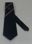 Tie, issued to fifty year member of the Melbourne Cricket Club