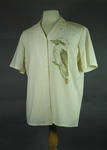 Australian Olympic Team marching shirt worn by Rob Woodhouse,  1984 Los Angeles Olympic Games