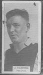 1933 W D & H O Wills Footballers J Harding trade card