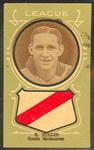 Trade card featuring Ron Hillis c1930s