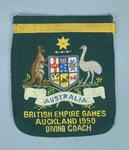 Blazer pocket, Australian 1950 British Empire Games diving coach