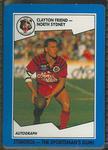 1989 Stimorol Rugby League Clayton Friend trade card