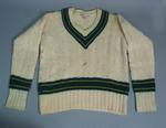 Long sleeved Australian cricket team jumper, worn by Ian Meckiff c1958
