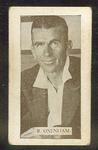 Trade card featuring Ronald Oxenham c1930s