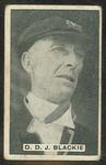Trade card featuring Donald Blackie c1930s