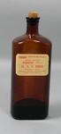 Glass bottle of iodine, c1930s