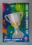 Poster - AFL Grand Final 2001 - 29 September at MCG