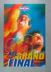 Poster - ' Feel the Heat ' - advertising 1998 AFL Grand Final