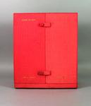 Presentation case for clock, c1966