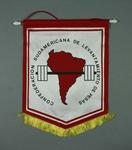Wall hanging, South American Weightlifting Confederation