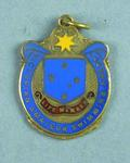 Victorian Amateur Swimming Association life membership medallion, awarded to Les Phillips 1964