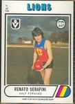 1976 Scanlens VFL Football Renato Serafini trade card