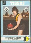 1977 Scanlens VFL Football Stephen Taubert trade card