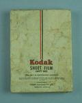 Box with six glass plates, Kodak Sheet Film