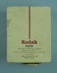 Box of ten glass plate negatives, Kodak Plates